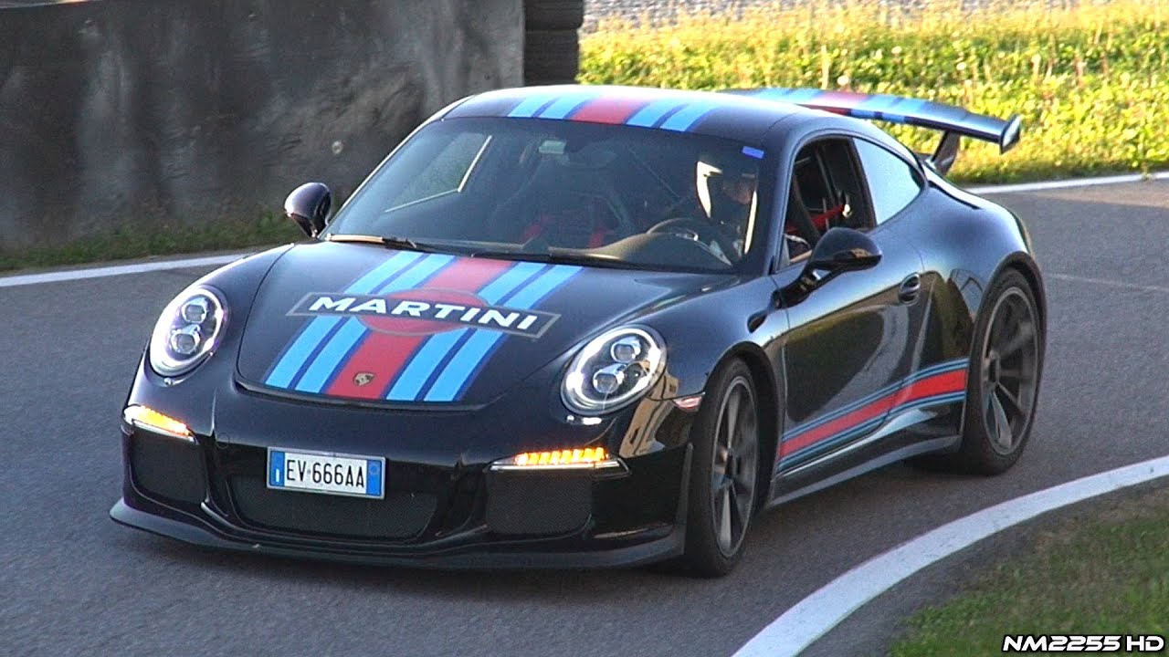 Porsche 991 GT3 with CUP Exhaust Sound - Revs, Accelerations & OnBoard