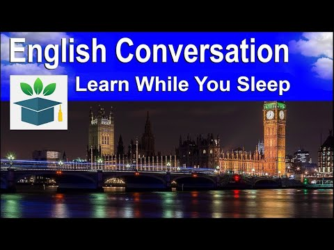 English Conversation, With Subtitles ★ Sleep Learning ★ 2000 Words.
