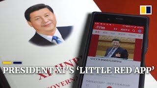 Chinese President Xi Jinping's 'Little Red App'