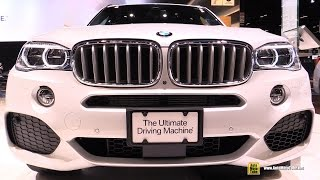 2016 BMW X5 xDrive 40e Plug In Hybrid - Exterior and Interior Walkaround - 2016 Chicago Auto Show