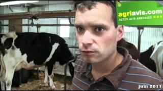 Etienne JEAN, éleveur laitier au Quebec