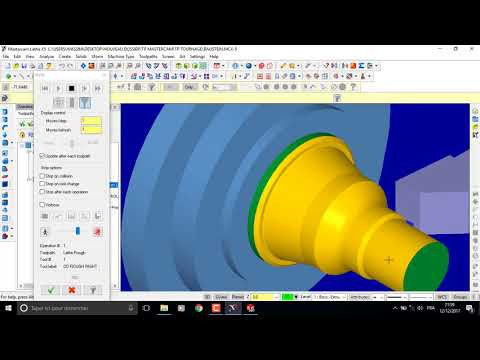 Download Mastercam X5 Making A Groove And Verify Lathe Program MP3