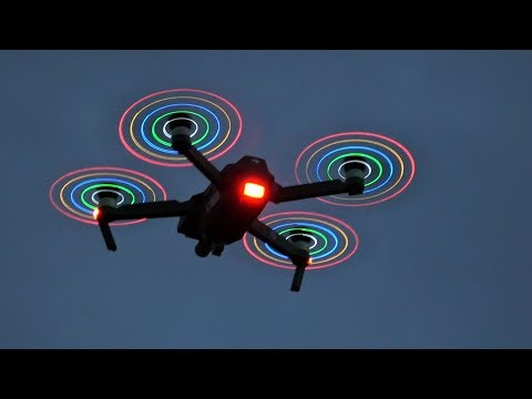 DJI Mavic Pro LED Low Noise Propellers