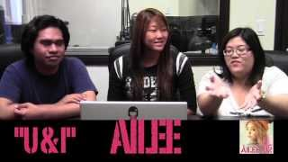 "Ailee - ""U & I"" MV Reaction"