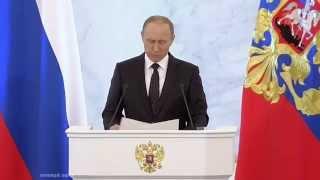 Владимир Путин о профессиональном будущем молодежи
