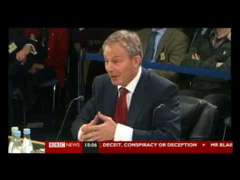 Chilcot Iraq Inquiry- Tony Blair Says No Regrets Of Removing Saddam Hussein