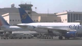 Nikos Kazantzakis Airport - Irakleion - Take Off To Rotterdam - 25-08-2013 - 2