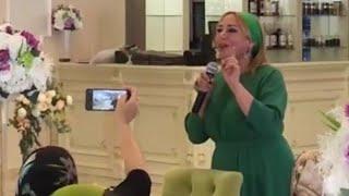 Весь зал снимали ее на телефон. Спела Песню о Братстве Чеченцев и Ингушей. Лариса Исраилова