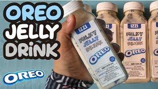 Es Oreo Susu Jelly Untuk Jualan | Di Bekukan Jadi Es Krim Oreo