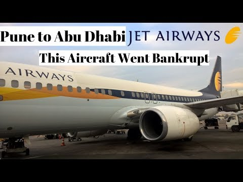 REVIEW | JETAIRWAYS (ECONOMY) | Boeing 737-800 | Pune Intl. Airport - Abu Dhabi