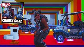 *NEU* CROSSY ROAD Modus in Fortnite!