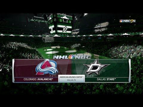 NHL 18 Franchise Mode: Colorado Avalanche @ Dallas Stars