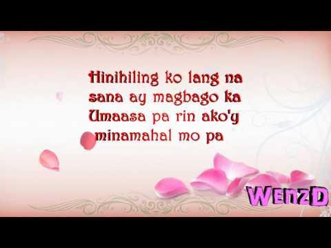 Hindi mo na ba Minamahal   Tj Monterde Lyrics by WenzD HD   YouTubevia torchbrowser com