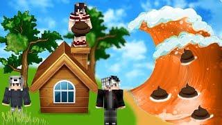 B*K TUSUNAMİ VS EV #14 - Minecraft