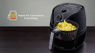 BLACK+DECKER AerOfry, 1.5 Liter Digital Air Fryer - AF200