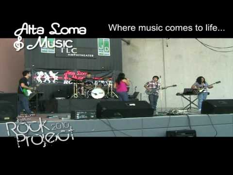 "Alta Loma Music Lessons Rock Project 2010 Corona CA - ""Sly Foxx"""