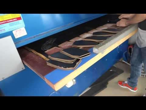 Leather Cutting Press by HG 4-column precision cutting machine 30 tons