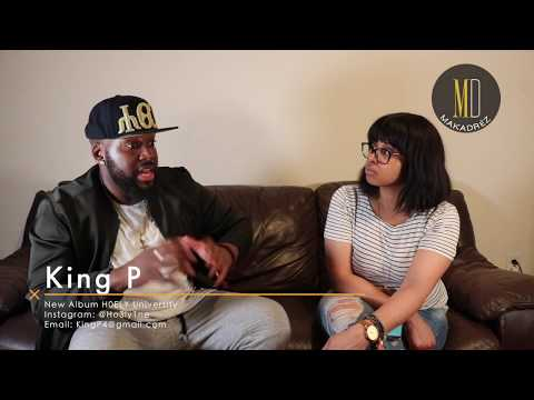 Interview With New NYC Based Artist King P