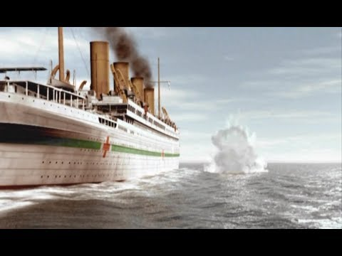 HMHS Britannic attacked by a German U-Boat