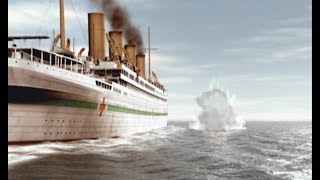 HMHS Britannic attacked by a German U-Boat