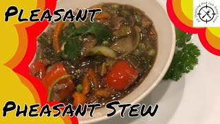 How to make Easy, tasty Pheasant stew. AHSAJGF Video