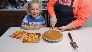 Double Layer Pumpkin Pie Bloopers