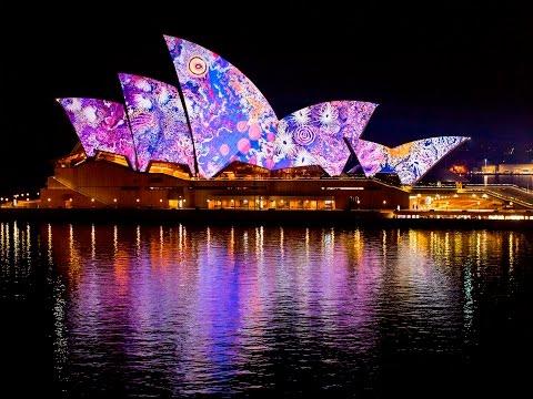 World's Largest Festival Of Light, Music & Ideas Kicks Off In Sydney