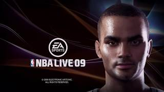 NBA Live 09 Gameplay (Xbox 360)