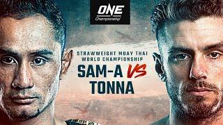 Sam-A Vs. Josh Tonna   Legend Vs. Underdog