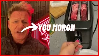 Gordon Ramsay Reacts To Tiktok Cooking Videos Part 2 | Tiktok Compilations #ramsayreacts