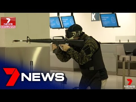 Access To Federal Police Training At Sydney Airport | 7NEWS