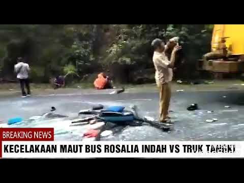 tragis.!!-8-orang-meninggal-di-tempat//-bus-rosalia-indah-vs-truk-tangki-lampung-hari-ini