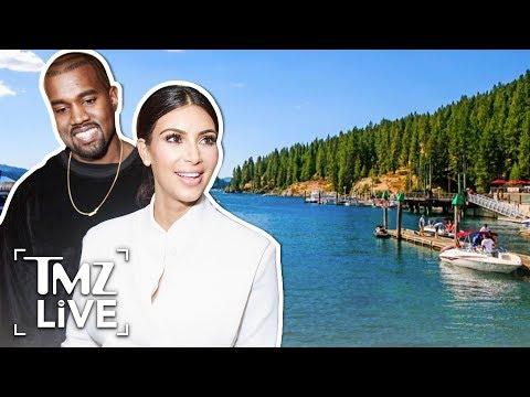 Kim & Kanye Vacation In Racist Retreat | TMZ Live