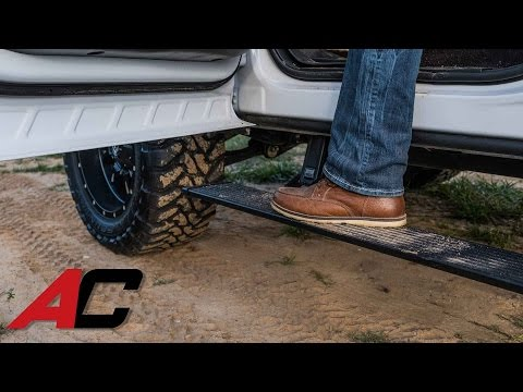 How to Install AMP Research PowerStep Running Boards on a Chevrolet Colorado at AutoCustoms.com