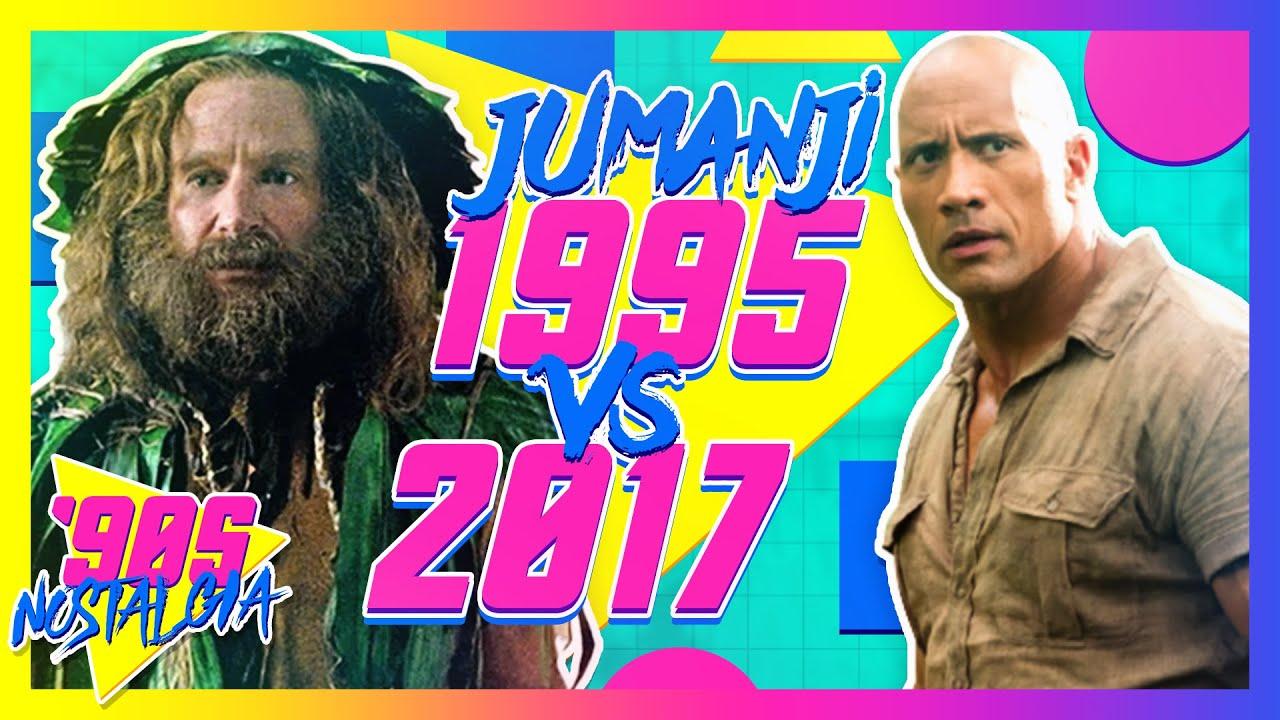 Download Top 10 Differences Between Jumanji 1995 vs 2017