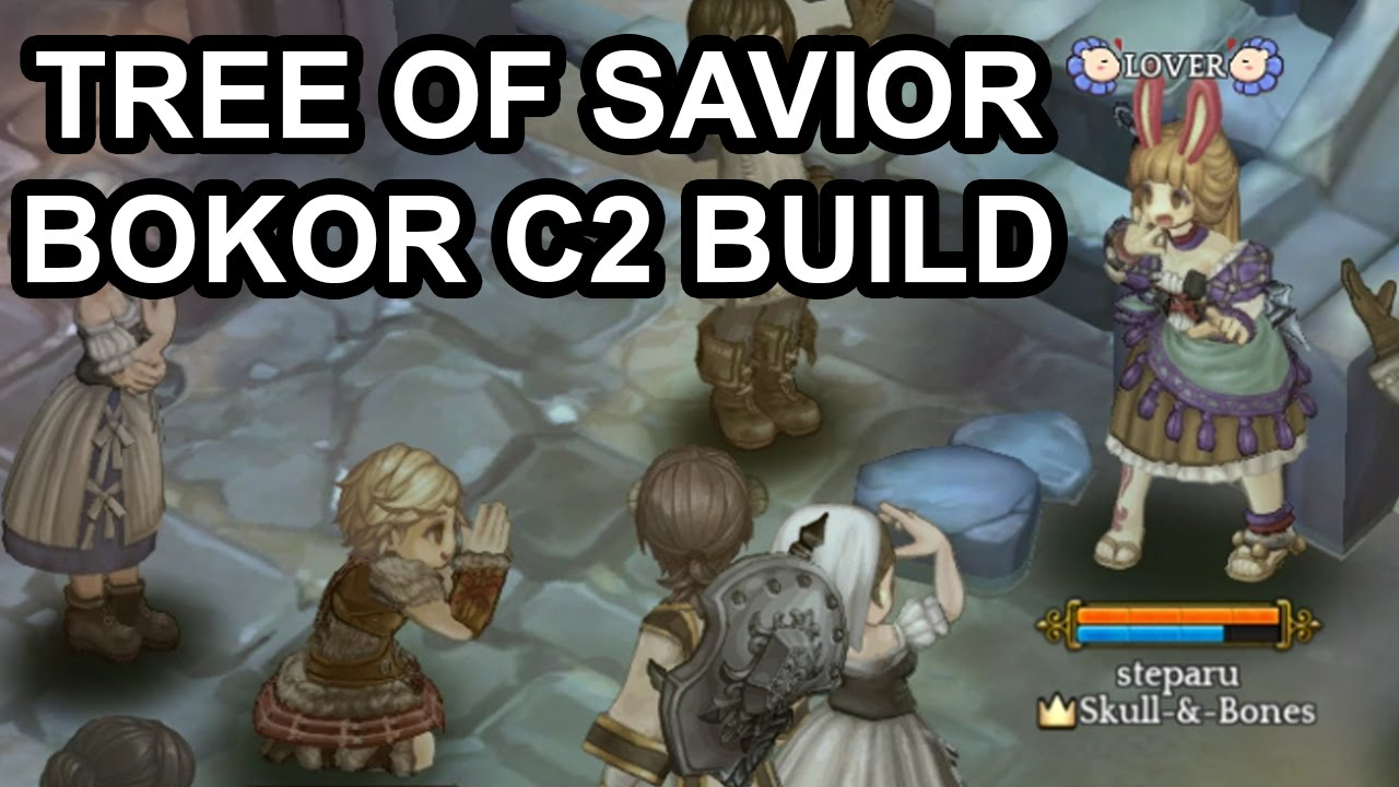 tree of savior online bokor circle 2 my current build youtube