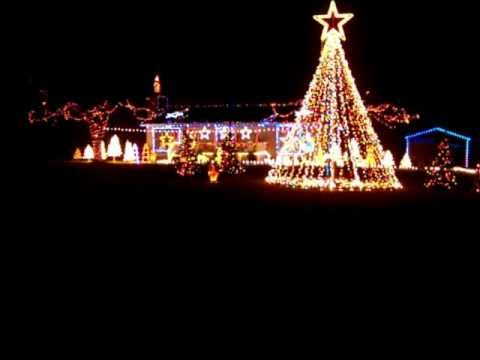 light o rama wallis christmas lights 20012 here comes santa clause sequence by wow lights