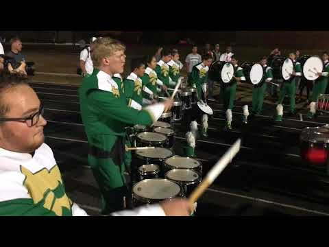 Drum line Battle Flowery Branch High vs Buford High