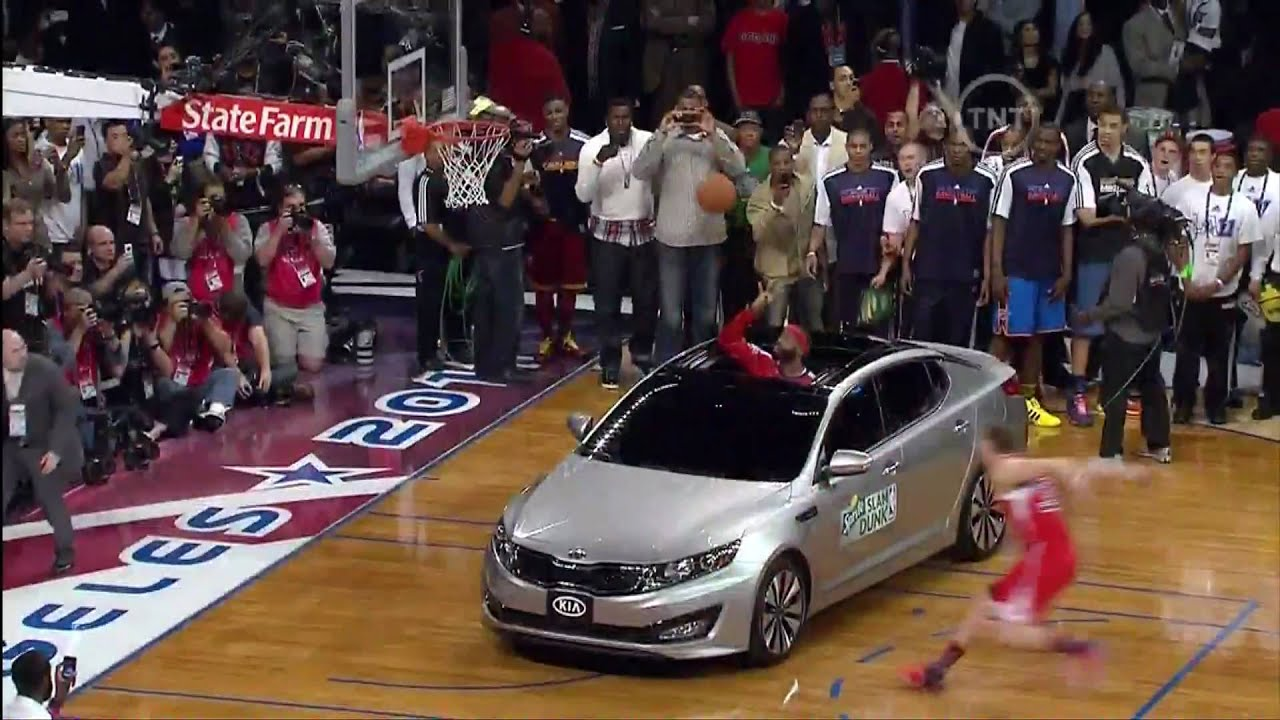 Blake Griffin Jumps Over A Kia And Wins 2017 Nba Dunk Contest 2 19 You