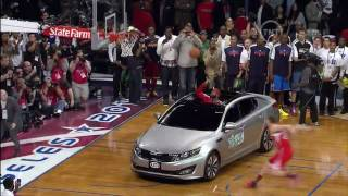 Blake Griffin Jumps Over a Kia and Wins 2011 NBA Dunk Contest (2-19-2011)