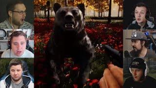 'Реакции Летсплейщиков' на Медведя из Mist Survival