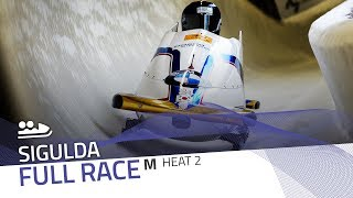 Sigulda | BMW IBSF World Cup 2019/2020 - 2-Man Bobsleigh Race 1 (Heat 2) | IBSF Official