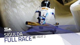 Sigulda | BMW IBSF World Cup 2019/2020 - 2-Man Bobsleigh Race 1 (Heat 2) | IBSF Official