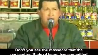"""Hugo Chavez'in Konuşması """"Lanet olsun Sana İsrail"""" Tr Altyazılı"""