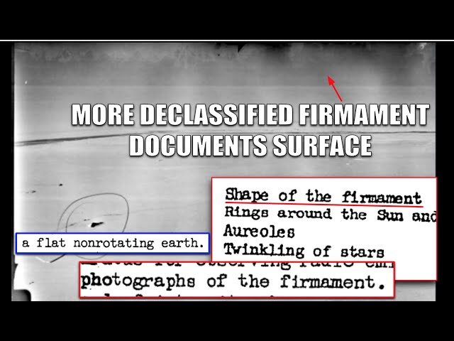 MORE DECLASSIFIED FIRMAMENT DOCUMENTS FOUND