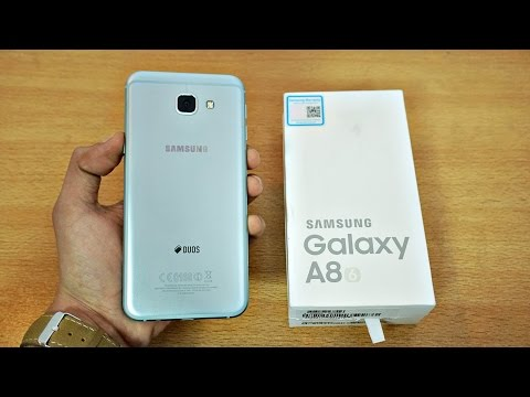 Samsung Galaxy A8 (2016) - Unboxing & First Look! (4K)