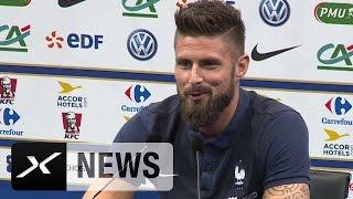 Olivier Giroud schwärmt von Borussia-Dortmund-Juwel Ousmane Dembele | Frankreich | Länderspiele