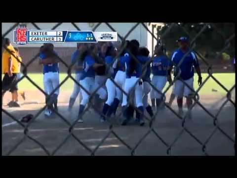 Caruthers High School WINS the CS D-V Softball Final