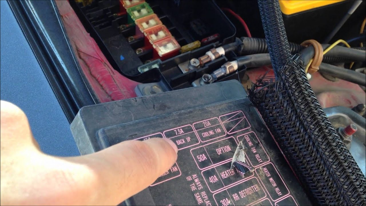 hight resolution of 93 honda civic interior fuse box