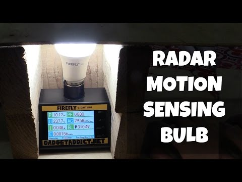 Radar motion sensing bulb from Firefly
